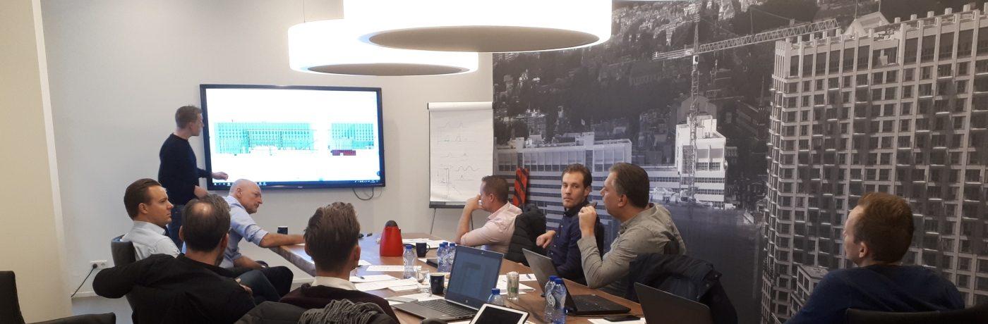 Radboud UMC Gebouw S: Kickoff meeting met projectteam 'gevel'