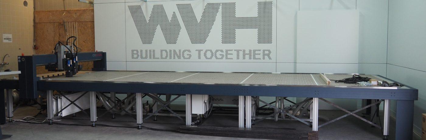 Uitbreiding productie faciliteiten WVH