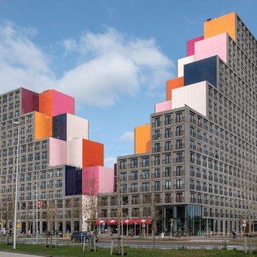 Community Campus Holendrecht   WVH Gevelprojecten