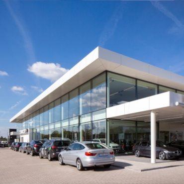 BMW Garage Gregoir | WVH Gevelprojecten